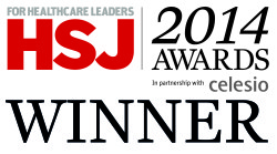 HSJ awards 2014 South West Yorkshire Partnership NHS Foundation Trust