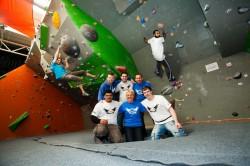 Rock climbing South West Yorkshire Partnership NHS Foundation Trust