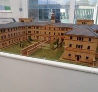 model building of the museum South West Yorkshire Partnership NHS Foundation Trust