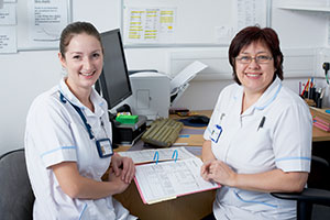 two podiatrists South West Yorkshire Partnership NHS Foundation Trust