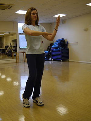 woman doing tai chi South West Yorkshire Partnership NHS Foundation Trust
