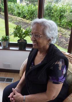 woman sat down talking South West Yorkshire Partnership NHS Foundation Trust