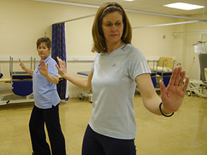 women doing exercises South West Yorkshire Partnership NHS Foundation Trust
