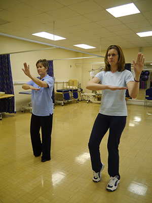 women doing tai chi South West Yorkshire Partnership NHS Foundation Trust