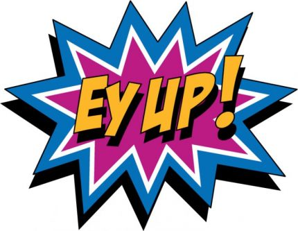 EyUp charity logo South West Yorkshire Partnership NHS Foundation Trust