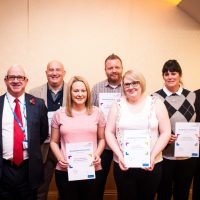 Long standing service awards 2017 South West Yorkshire Partnership NHS Foundation Trust