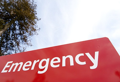 emergency sign South West Yorkshire Partnership NHS Foundation Trust