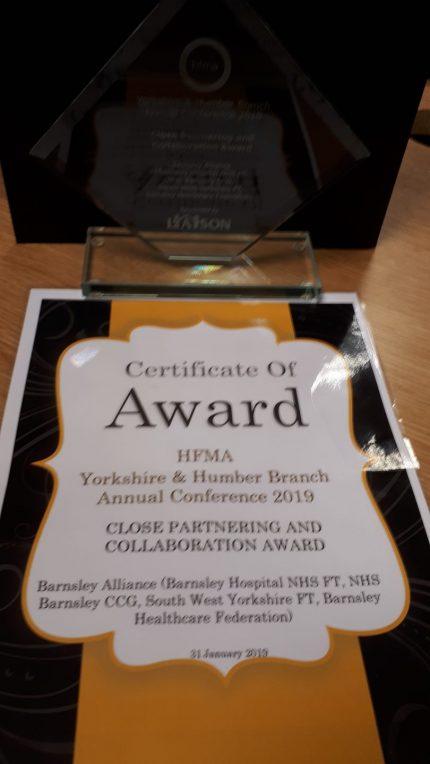 Partnership award win for Barnsley's intermediate care | South West