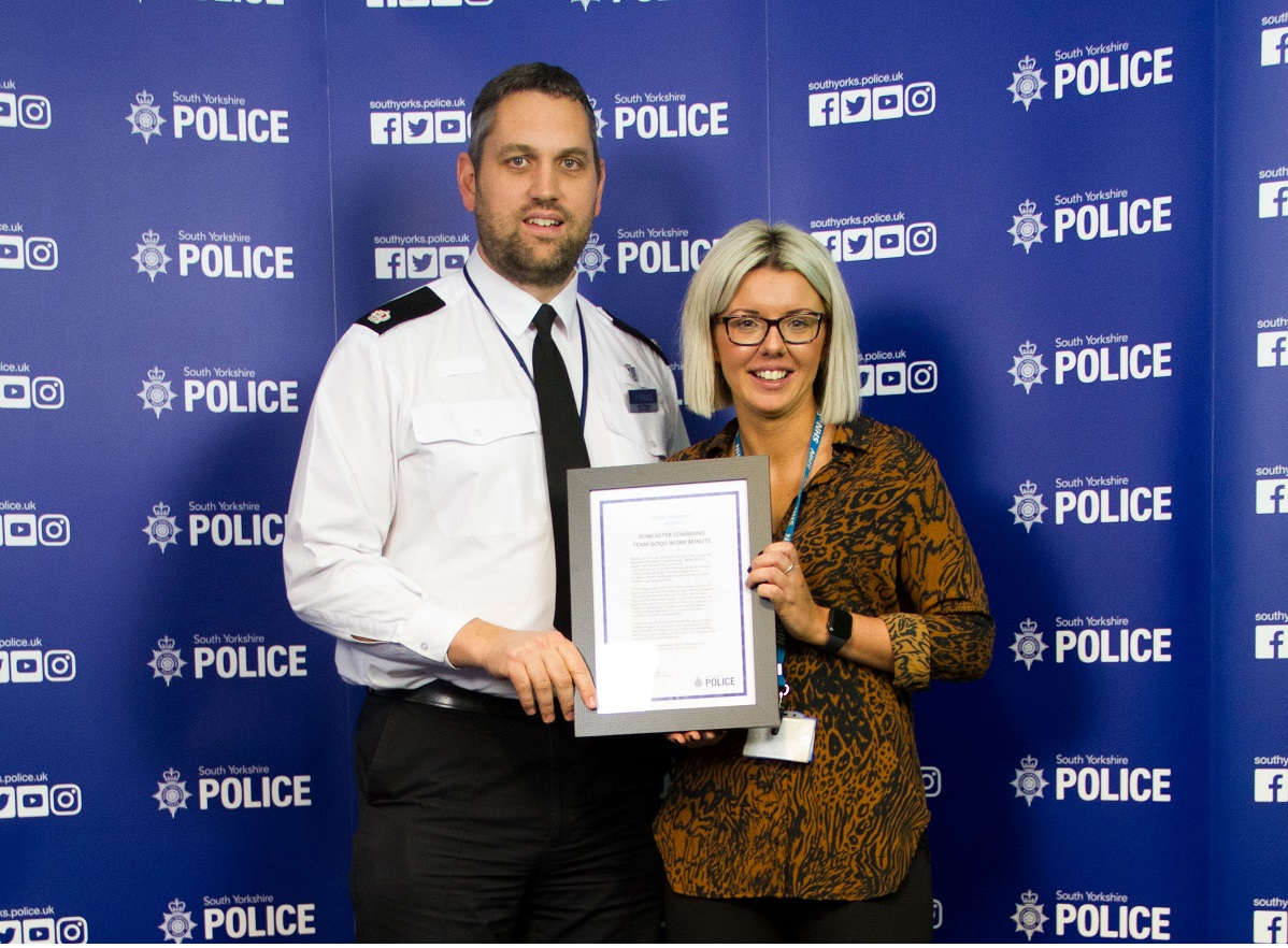 Superintendent S Commendation For Liaison And Diversion Lead South West Yorkshire Partnership Nhs Foundation Trust
