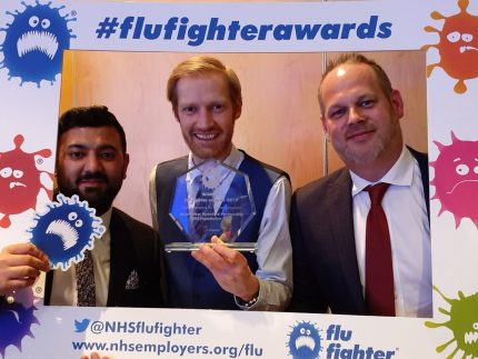 South West Yorkshire Partnership NHS Foundation Trust | Flu Fighter awards 2019