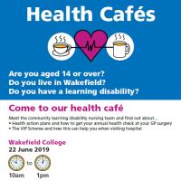 Read more: Health Café – Wakefield College