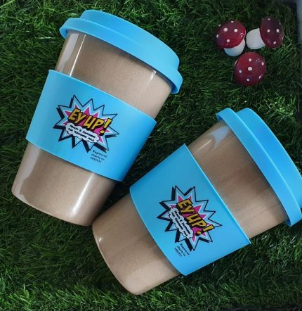 EyUp! eco travel mugs