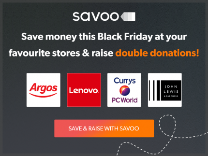 Savoo Black Friday Banner