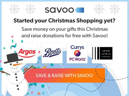 Savoo Christmas Shopping Banner