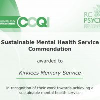 Read more: Kirklees memory service celebrates achieving sustainability commendation