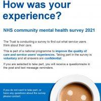 Read more: NHS community mental health survey 2021