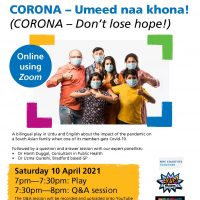 Read more: Online play portrays life with Covid-19 for South Asian family